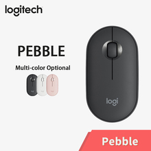 1f072d6a57c Logitech PEBBLE Bluetooth Mouse Silent Wireless Mouse Thin&Light Portable  Modern Mouse with 1000DPI 100g High Precision