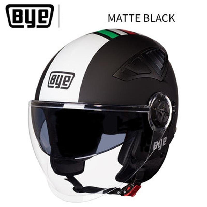 Free shipping ECE Harley Helmets 3 4 Motorcycle Chopper Bike helmet open face vintage motorcycle helmet