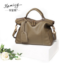 Kamicy  2017  best-selling  new  Korean   handbag style  handbag  elegant  fashion  lady  slant bag casual leather handbag youth