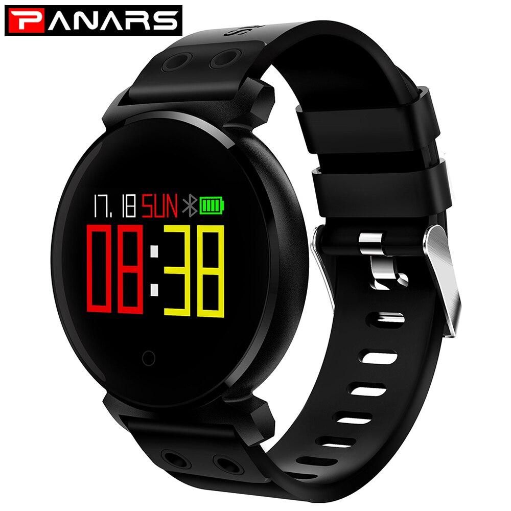 все цены на Sport Smartwatch Men Outdoor Watches Waterproof IP68 5ATM Passometer Message Reminder Digital Watch for Android IOS Phone 2018 онлайн