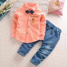 Kids Sport Sets 2017 Fashion Toddler Baby Spring Summer Clothing Sets Gentleman Boys Summer Sport Short Number Clothes