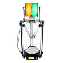 Новейший Geeetech All Metal Delta Rostock mini G2S 3D Printer High Resolution Impressora (LCD бесплатно)