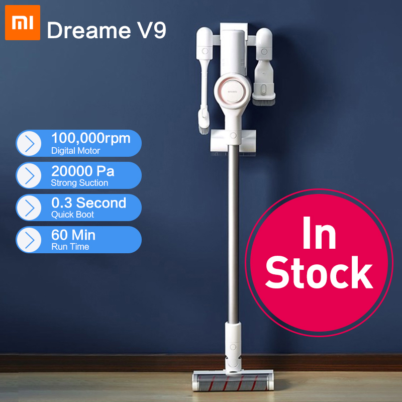 [In Stock] Dreame V9 Handheld Cordless Vacuum Cleaner Protable Wireless Cyclone Filter Strong Suction Carpet Dust Collector home(China)
