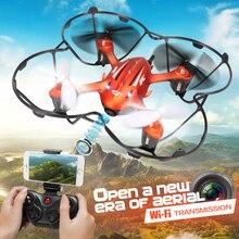 2017 Date! Mini Drone JJRC H6W En Temps Réel Vidéo FPV Quadcopte RC Toys Dron Avec 2MP Hd Wifi Caméra RC Hélicoptère Toys Pour Les Enfants