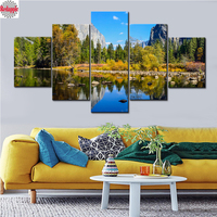 diamond Paintings for Living Room Natural Scenery diamond embroidery Landscape mosaic full drill Pictures Modular Painting decor
