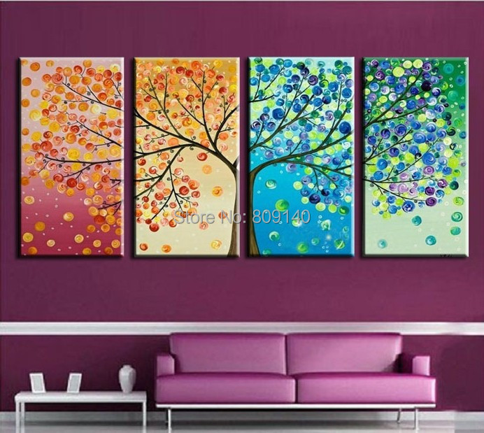 Blue Earth Surface Abstract Oil Painting Outer Space Handmade Quality Home  Office Hotel Wall Art Decor Decoration Free Shipping