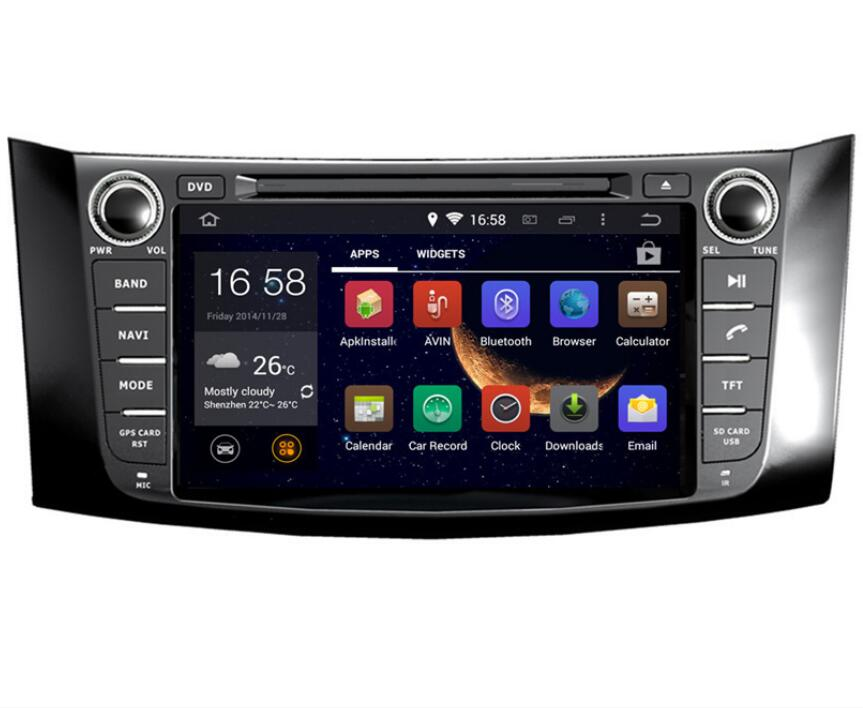 8 4g LTE Android 8.0 4g/android 7.1 2 DIN VOITURE DVD LECTEUR Multimédia GPS Pour nissan SYLPHY, sentra, Pulsar 2012 2013-15 2016
