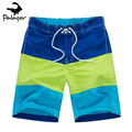 Palager Brand Summer Beach Shorts Men Board Shorts Striped Print Casual Shorts Men's Swimwear Shorts for Man