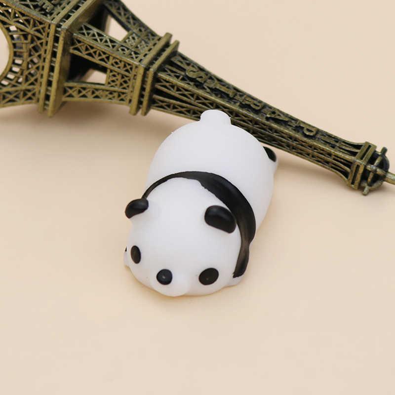 1 pz Super cute cartoon panda giocattoli Spremere Giocattoli Antistress Pop Bambola Alleviare Lo Stress Vent Scherzi Decompressione Divertente Giocattolo Della Novità