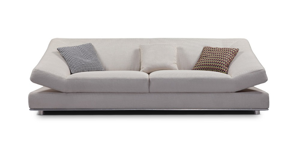 Us 867 0 Promotion Modern Furniture Living Room Unfolding Sectional Sofa With Stainsteel Legs Mcno9829 In Sofas From On