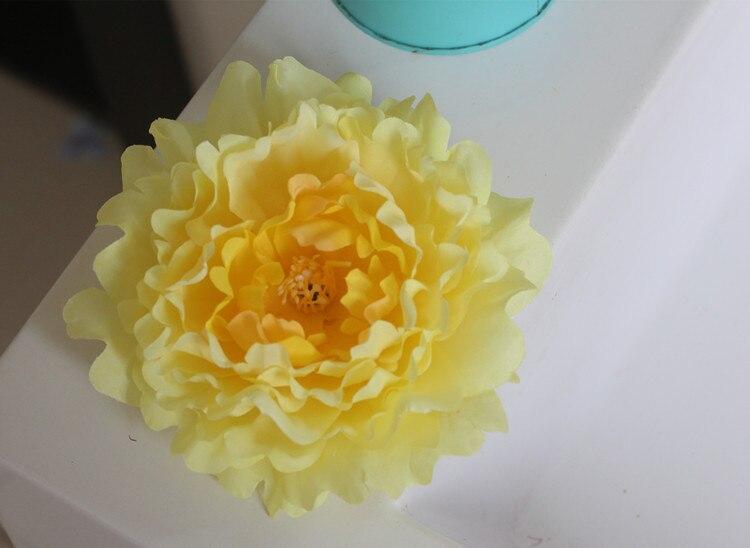 ღ Ƹ̵̡Ӝ̵̨̄Ʒ ღ10pcs/lot DIY silk flower wall accessories Artificial ...
