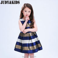 Baby Summer Dress Children S Clothing Prom Girls Evening Party Ball Dresses Carnival Costume Bow Striped
