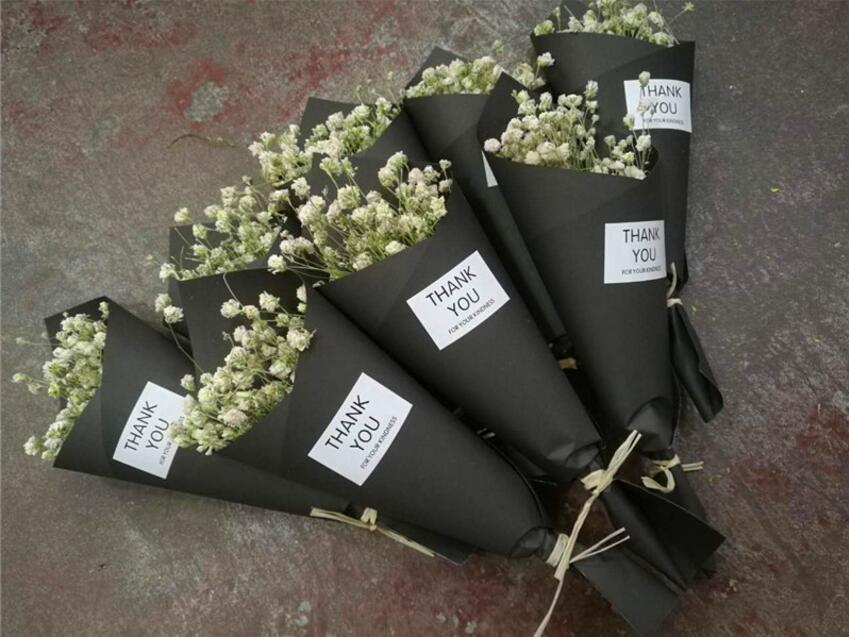 20 bundles dried white gypsophila flower with blackyellow kraft 20 bundles dried white gypsophila flower with blackyellow kraft paper for wedding party holiday festival favor gift in artificial dried flowers from home mightylinksfo