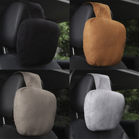 Car Headrest Pillow Comfortable Cervical Pillow Head Neck Pillow Neck Support Cushion Car Seat Pillow Interior Hot Car-styling