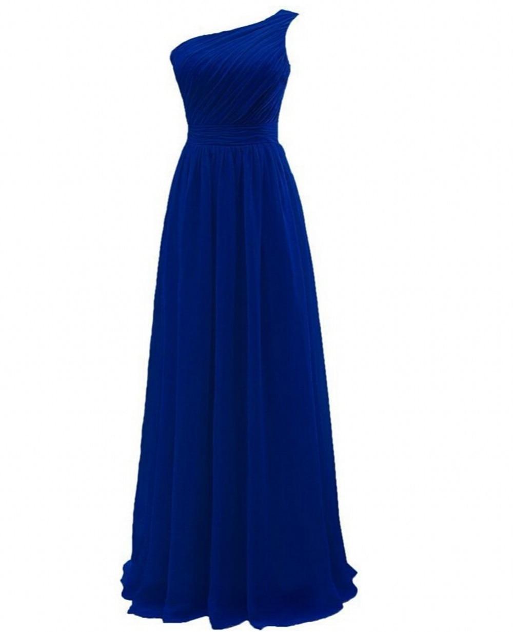 Blue Yellow Bridesmaid Dresses
