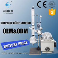 20l Laboratory glassware distillation Crystallization Equipment for pharmaceutical processing Rotary Vacuum Evaporator