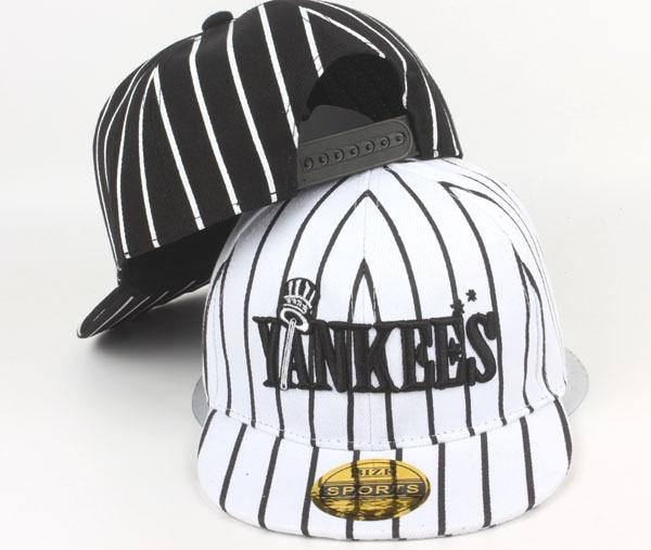 New Kids Cotton Yankees Caps Boys Girls Baseball Caps Summer Hats Children  Caps Baby Hat Children Hip Hop Flat Hat-in Hats   Caps from Mother   Kids  on ... bd900e7c7