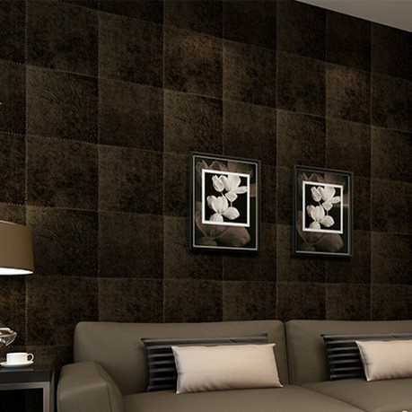Modern  Textured  Black Wallpaper Roll Blackground Waterproof PVC  papel de parede 3d vinilo plaint slender striped pvc wallpaper pearly lustre finish for all modern match papel de parede waterproof