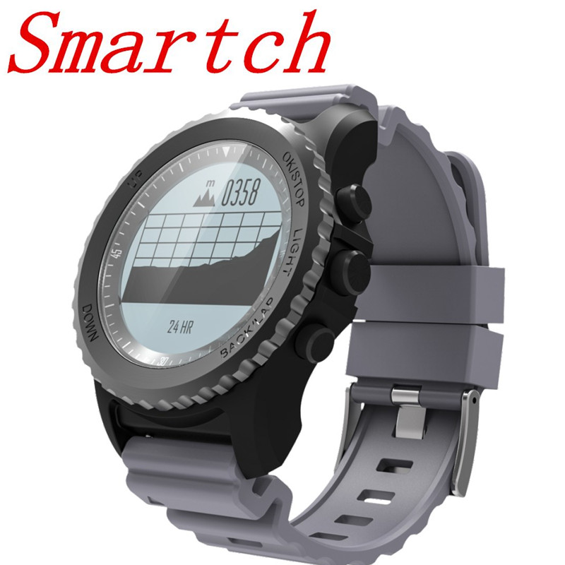 Smartch S968 GPS Sports Smart Watch IP68 Waterproof Smartwatch Sleep Heart Rate Monitor Call Reminder Barometer Thermometer Alti smart baby watch q60s детские часы с gps голубые