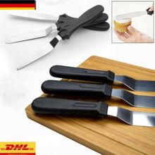 Мини-лопатка для торта, крема, 3 шт., шпатель из нержавеющей стали, палитра ножей, набор для украшения торта, набор гладких инструментов