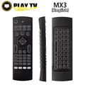 MX3 Backlight fly Air Mouse  Qwerty 2.4G wireless keyboard  with IR learning Gyroscope Gamepad for android tv box laptop