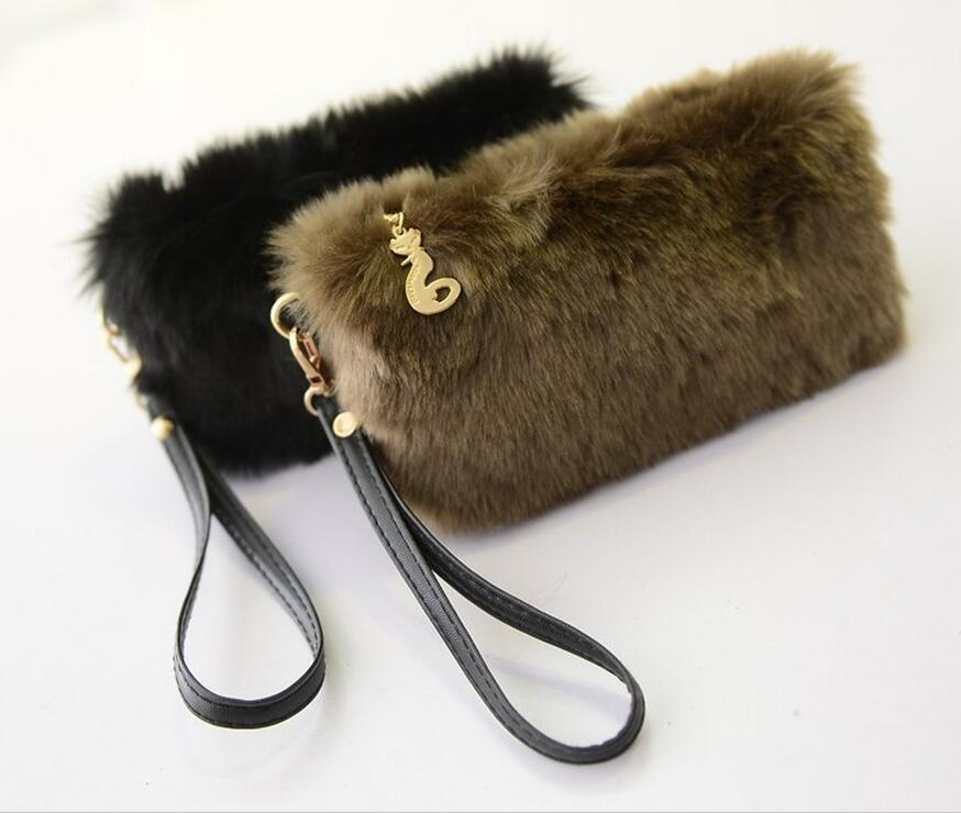 M388 Scriptures Casual Fashion Cony  Hairy  Candy Color Clutch  Bag  Girl Women Bag Student Gift Wholesale