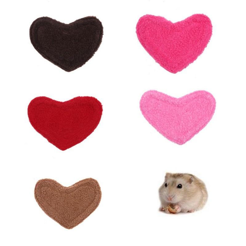 Leuke Warme Katoen Ronde Kleine Dier Slaap Deurmat Pad Kussen Bed Nest Voor Hamster Egel Eekhoorn Muizen Muizen Kooien