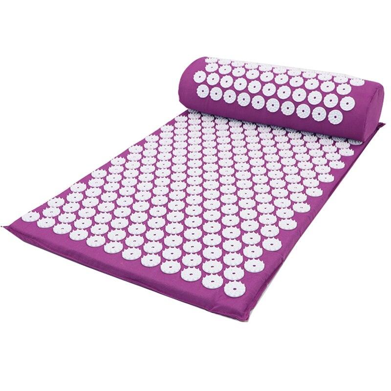 tapis d acupression shakti coussin de massage de haute qualite tapis d acupuncture de yoga offre speciale
