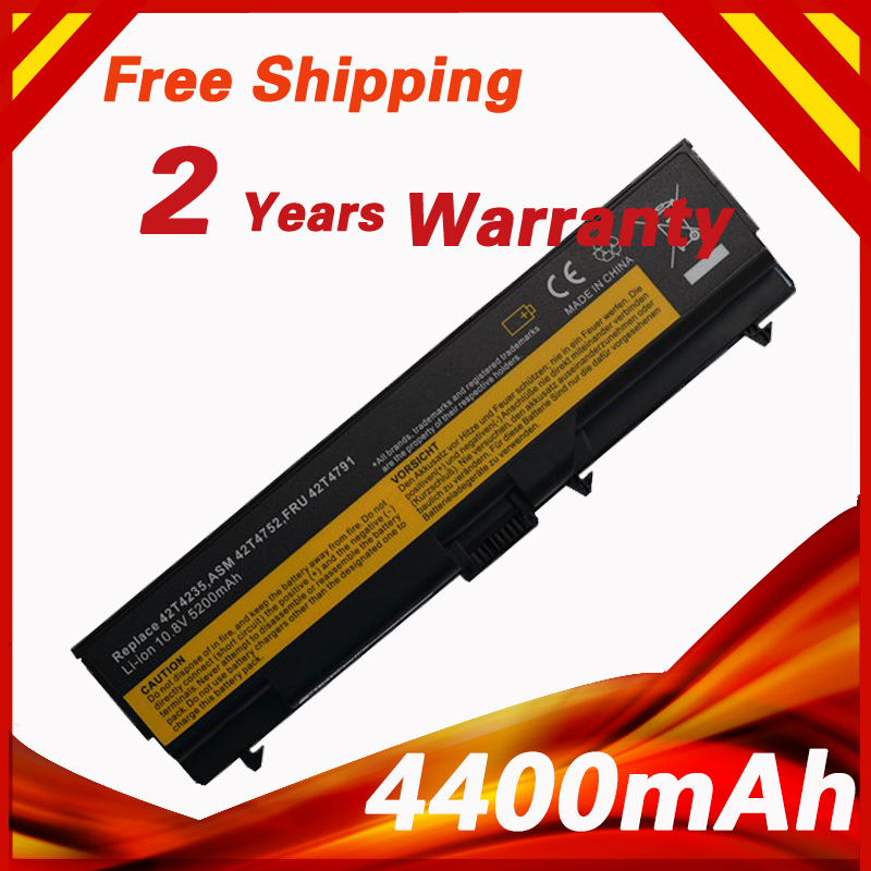 Battery For LENOVO ThinkPad E40 T410i T410 T420 T510 T510i T520 L410 W510 W520 42T4702 42T4751 42T4755 42T4791 42T4793 42T4795 20v 6 75a 135w original ac adapter charger laptop power supply for lenovo thinkpad t530 t520 w530 w520 w510 3pin 45n0059 45n0055