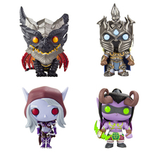 Games cartoon characters figures collection hobby Sylvanas Lich King Illidan toy