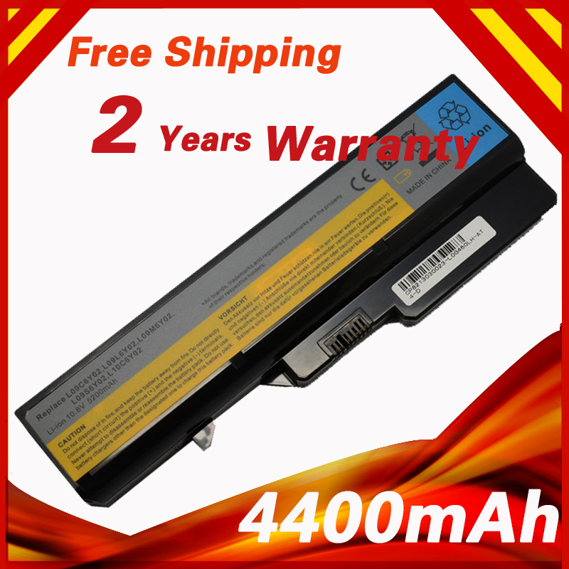 4400mAh 10.8v Battery For LENOVO G460 G465 G475A G475GL G575 G570 B470 G470 G560 G565 G570 G770 V360 V370A V470A V470P V570A