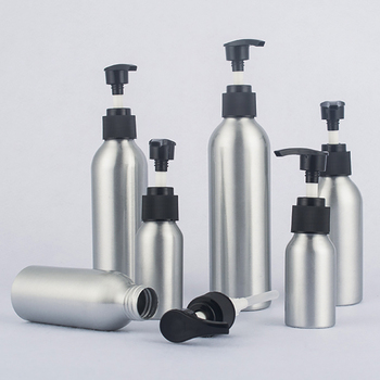 China Suppliers Aluminum Bottle With Pump 150ml For Lotion