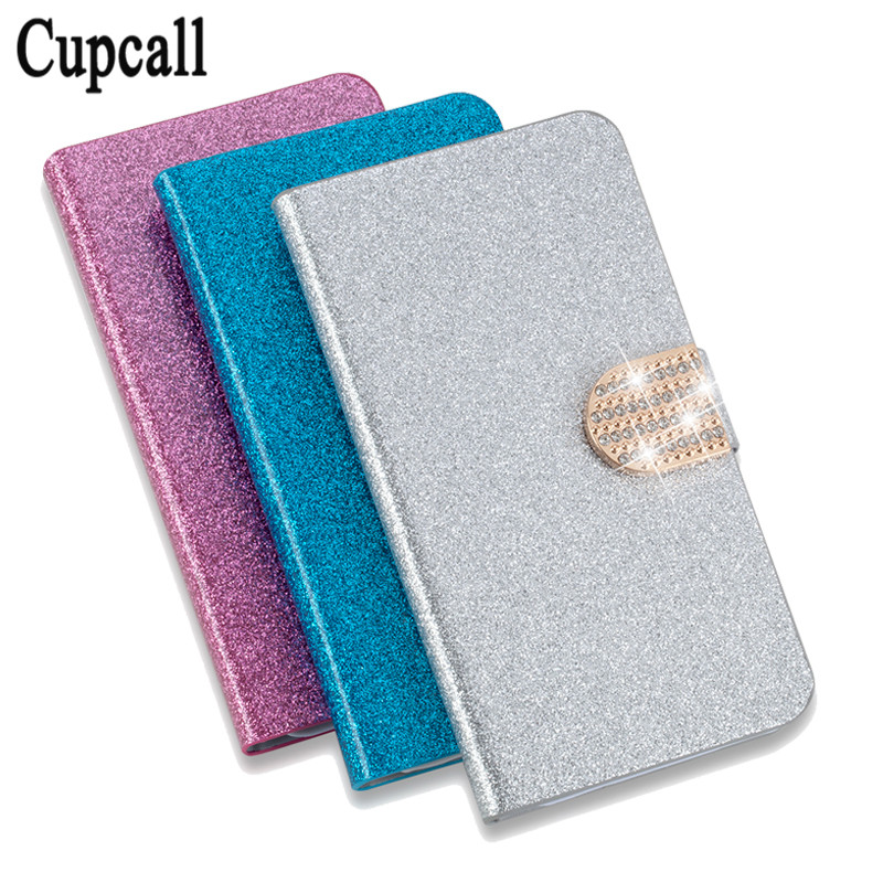 Cupcall New style original High taste flip PU leather Good taste contracted phone back cover For Vodafone Smart first 7 case