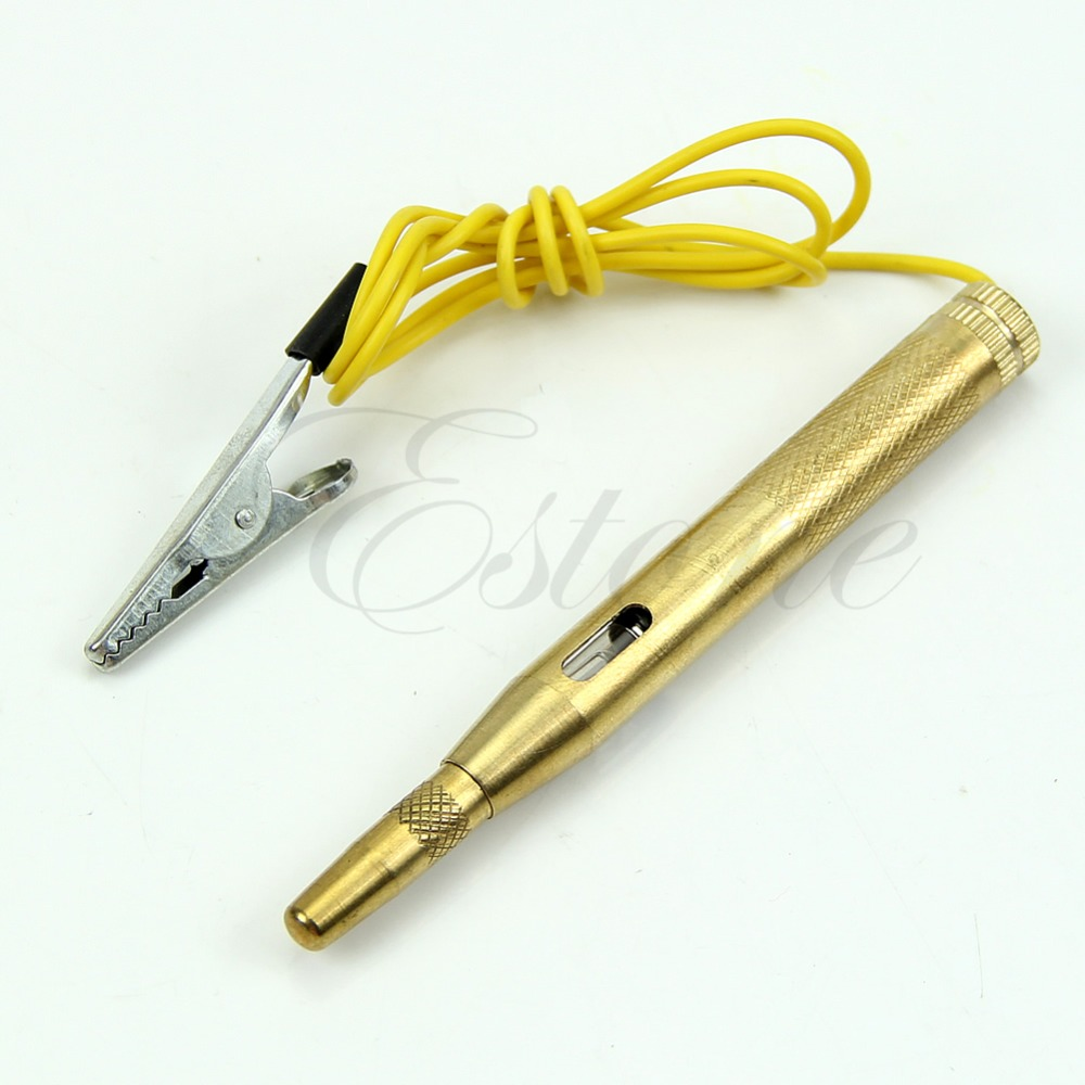 Auto Car Truck Motorcycle Circuit Voltage Tester Test Pen DC 6V-24V Free Shipping