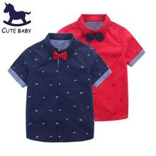 Рубашка для мальчиков New 2016 boys