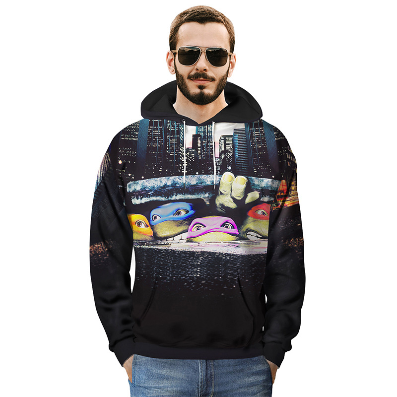 Men's Clothing New Brand Hoodie Streetwear 3d Lion Flag Toy Brickhip Hop Hooded Hoody Mens Hoodies And Sweatshirts Dropship With The Most Up-To-Date Equipment And Techniques