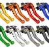 Для Vespa Барабанный тормоз Sportique, PX ралли V90 T5, PX LML PK ET3 Primavera короткие 3D сцепления тормозные рычаги ЧПУ Регулируемая