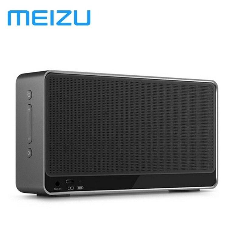 Meizu lifeme bts30 Беспроводной Bluetooth 4.2 Алюминий Динамик Портативный стерео Открытый бас мини Колонки PK B & O A1