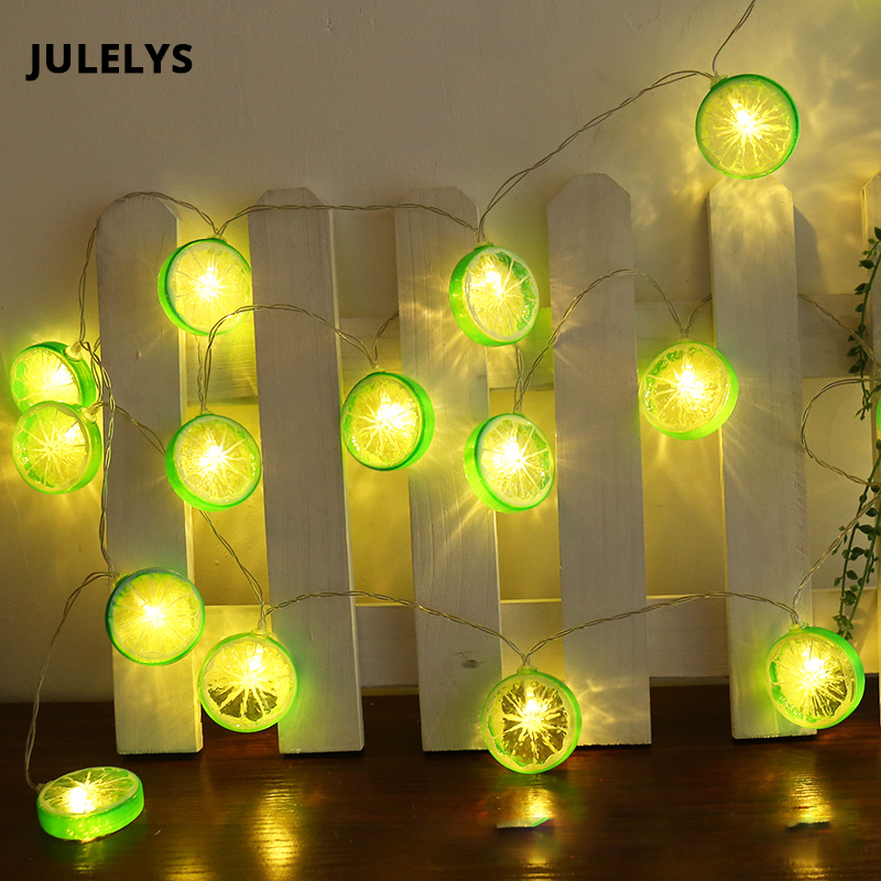 JULELYS AA Battery Powered Garland Decorative LED Lights Decoration For Christmas Birthday Holiday Kids Bedroom String Lights