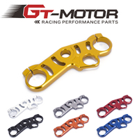 Gt motor Motorcycle Lowering Triple Tree Front End Upper Top Clamp For Suzuki GSXR1000 2006 2010 gsxr600 06 09