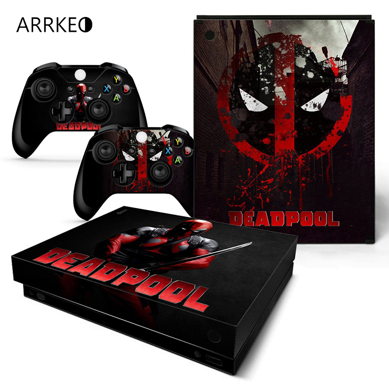 Arrkeo Super Hero Deadpool Superman Vinyl Cover Decal
