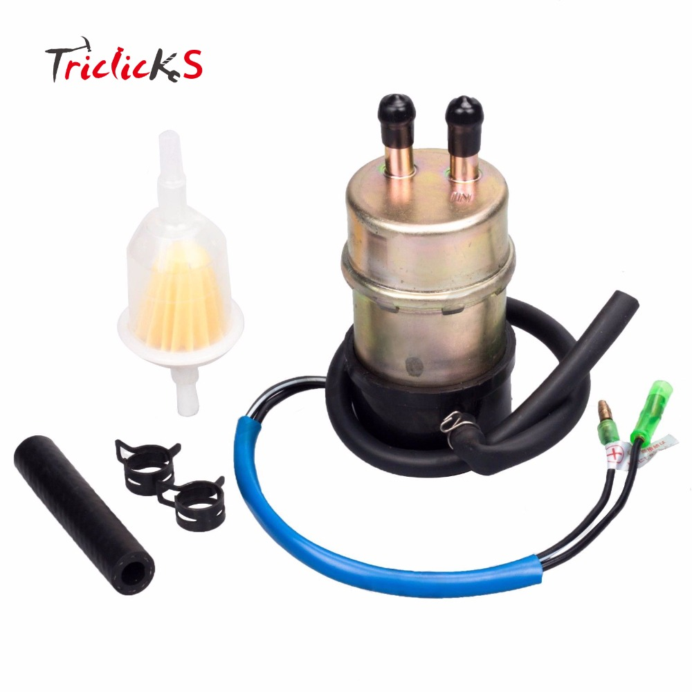 Triclicks 49040 1055 Fuel Supply Pumps 10MM Pump For Kawasaki KF620 Mule 3000 3010 3020 2500 2510 2520 49040-1055 490401055