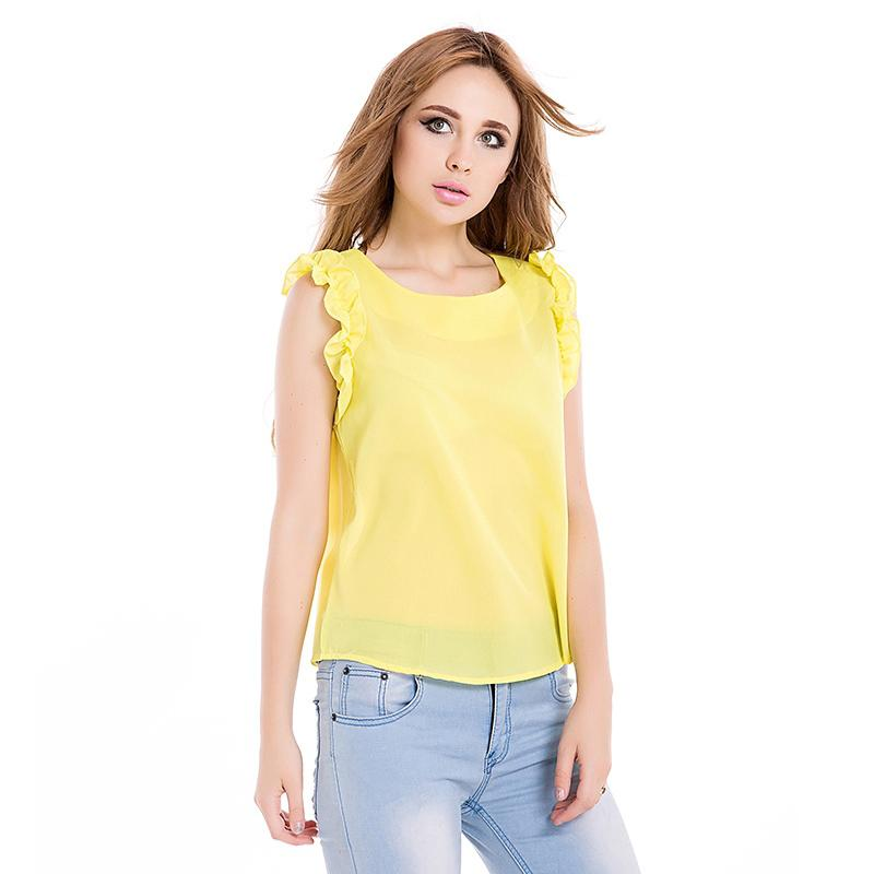 Popular Yellow Women Lace Shirt-Buy Cheap Yellow Women Lace Shirt ...