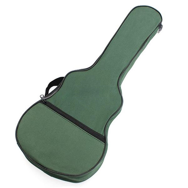 Ukulele Soft Shoulder Black Green Carry Case Bag Musical With straps For Acoustic Guitar Musical Instruments Parts &Accessories 3