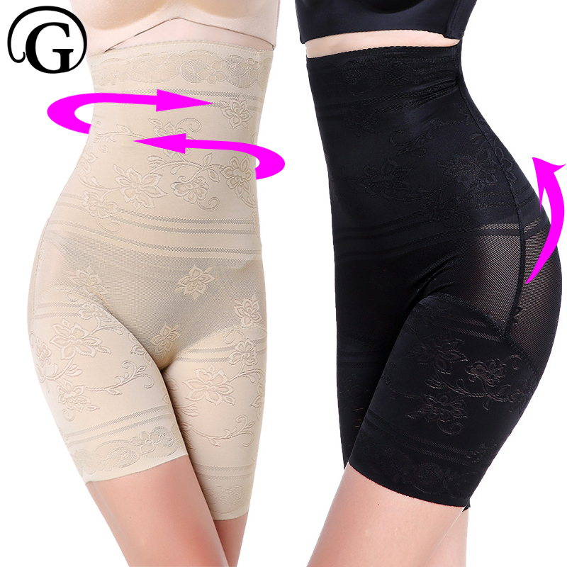 PRAYGER 5XL Plus Size Women Hot Body Shaper Control Panties High Waist Hold Stomach Shapers font