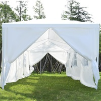 10' X 30' Outdoor Canopy Tent with Side Walls Patio Gazebos Tent OP3595