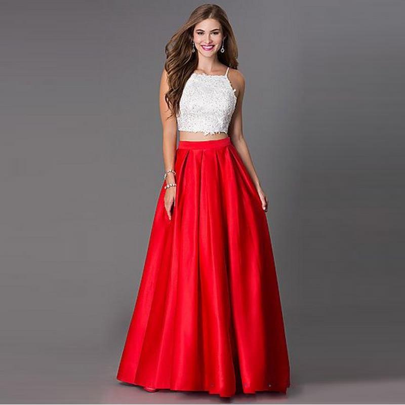 Online Buy Wholesale satin circle skirt from China satin ...