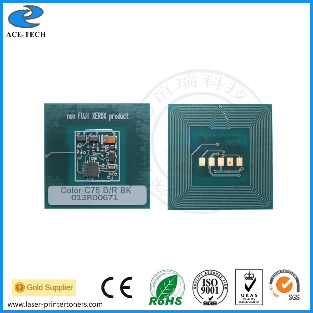 013R00671 013R00672 Drum chip for xerox Color C75 Press Color J75 Press Drum color laser printer toner cartridge in Cartridge Chip from Computer Office