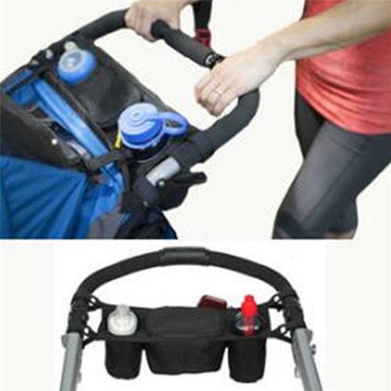 Universal Cup Holder Bag Stroller Organizer Bag Baby Carriage Pram Buggy CH