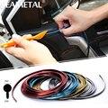 5 M/lote-Car styling Adesivos de Carro e Decalques DIY Adesivo 3d Car Decoração de Interiores Moulding Guarnição Tira Fio Auto acessórios